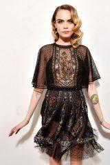 Cara Delevingne – Dior Show at Paris Fashion Week 02/25/2020