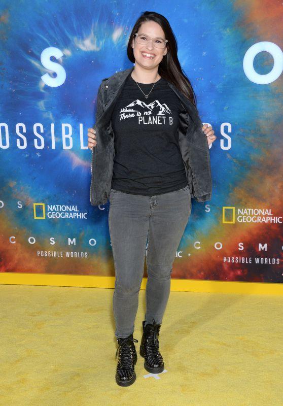 """Cara Santa Maria – """"Cosmos: Possible Worlds"""" Premiere in LA"""