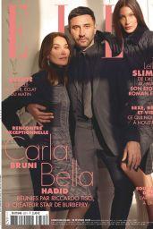 Carla Bruni and Bella Hadid - ELLE France 02/28/2020 Issue