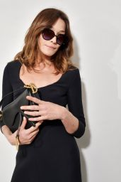 Carla Bruni - Dior Show at Paris Fashion Week 02/25/2020