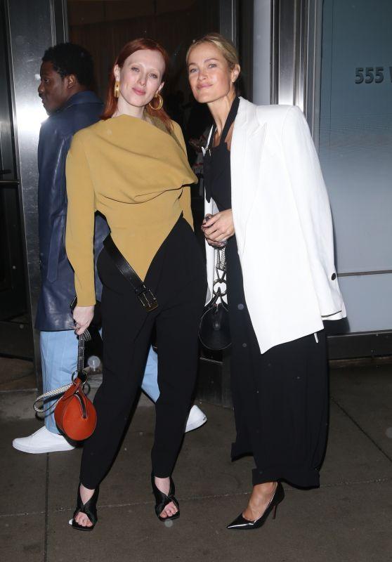 Carolyn Murphy and Karen Elson – Proenza Schouler Show at NYFW 02/10/2020