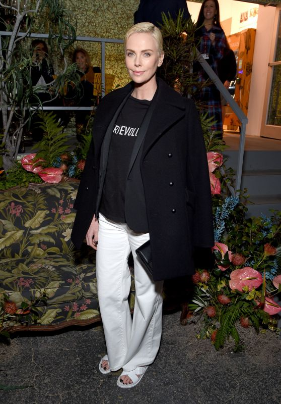 Charlize Theron – BIRKENSTOCK 1774 Collection with MATCHESFASHION Launch Party in LA