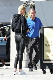 Charlize Theron - Leaves Lunch at Sugarfish in Los Angeles 02/13/2020