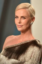 Charlize Theron – Vanity Fair Oscar Party 2020