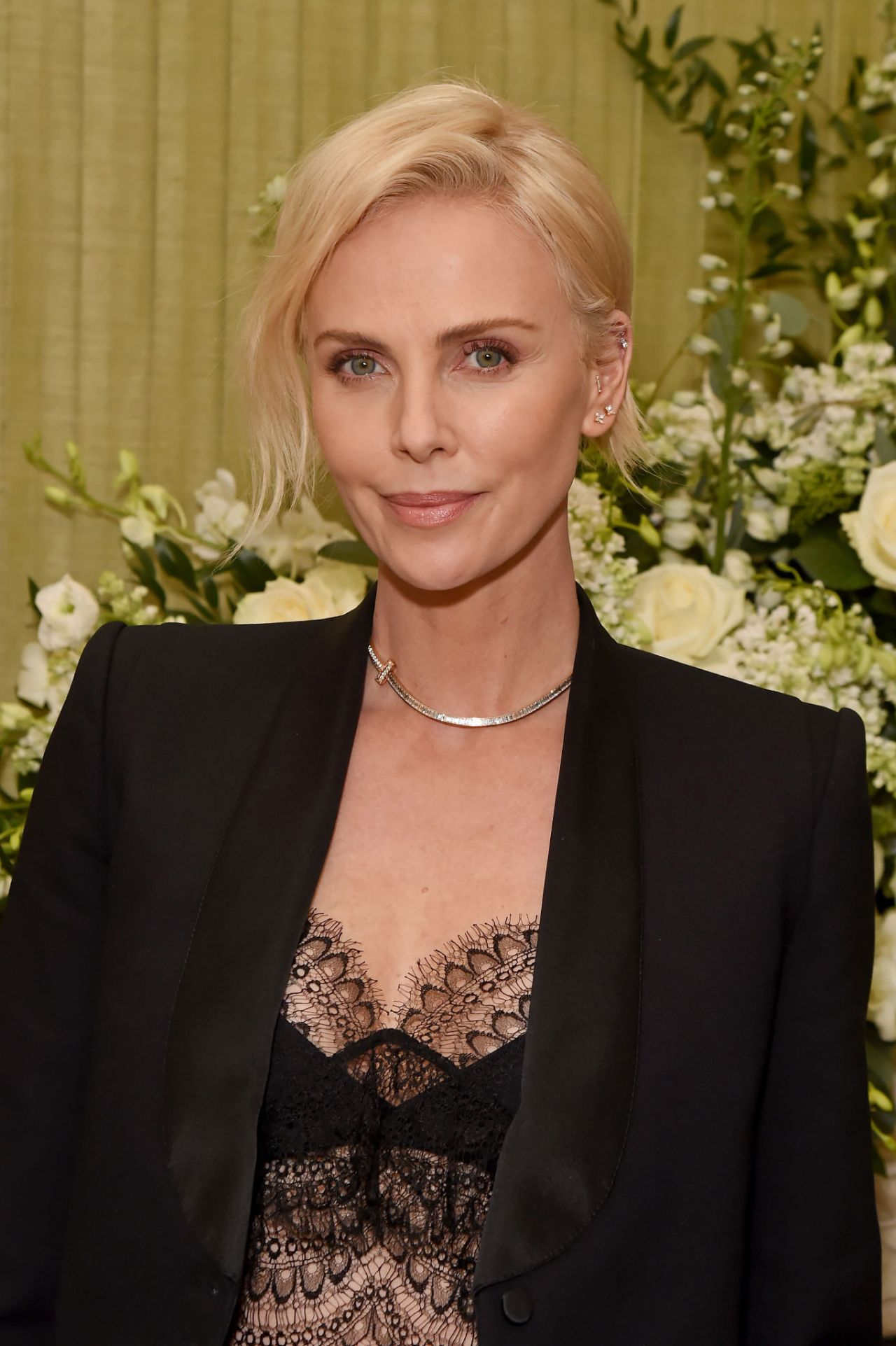 Charlize Theron - Vogue UK and Tiffany & Co. Fashion and