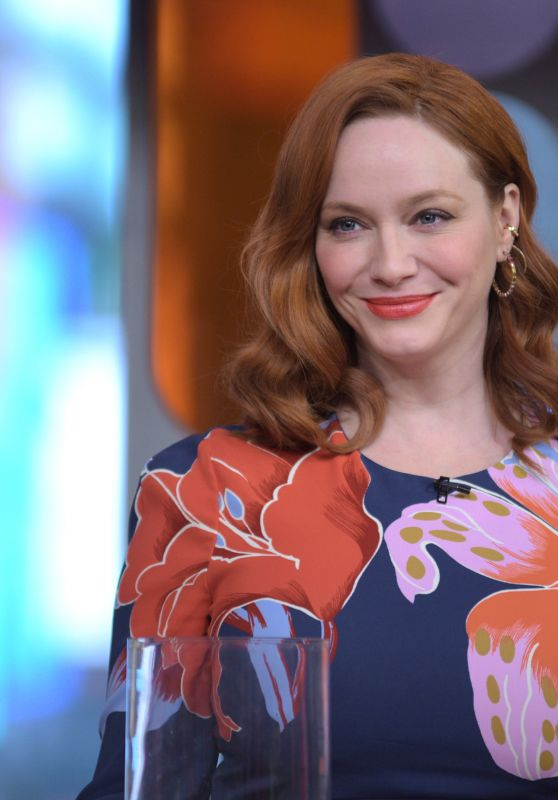 Christina Hendricks - GMA in NYC 02/13/2020