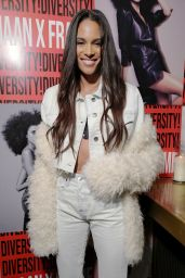 Cindy Bruna – Frame x Imaan Dinner Fall Winter 2020 at NYFW