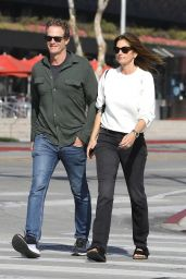 Cindy Crawford and Rande Gerber - Out in West Hollywood 02/18/2020