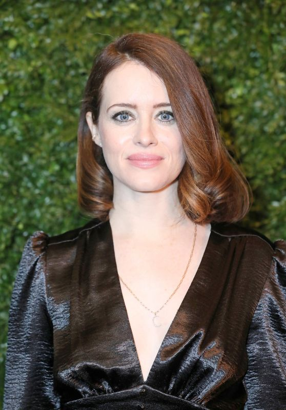 Claire Foy – Charles Finch and Chanel Pre-BAFTA Party 02/01/2020