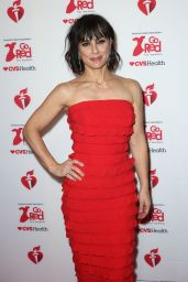 Constance Zimmer - Go Red For Women Red Dress Collection 2020 in NYC