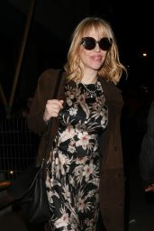 Courtney Love – Arriving at the Love Magazine Party in London 02/17/2020