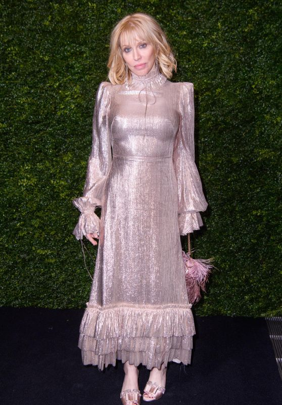 Courtney Love – Charles Finch and Chanel Pre-BAFTA Party 02/01/2020