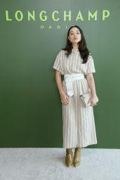 Crystal Reed - Longchamp Show at NYFW 02/08/2020