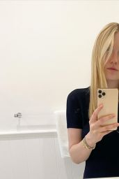 Dakota Fanning – Social Media 02/09/2020