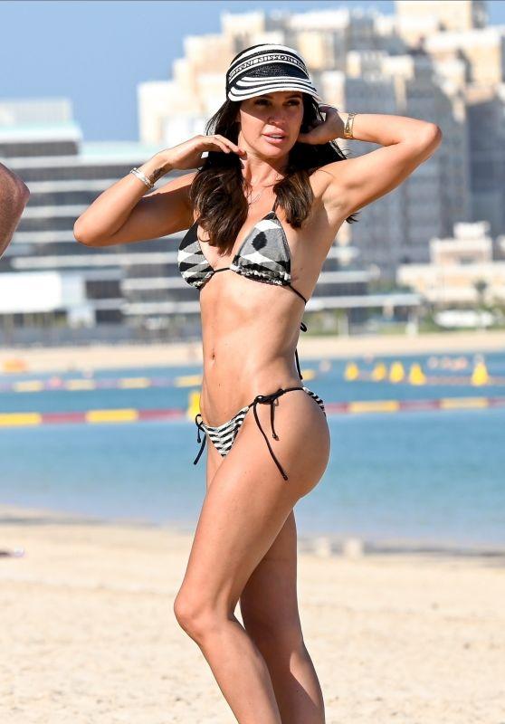 Danielle Lloyd in a Bikini - Dubai 02/15/2020