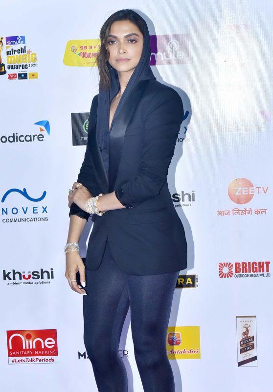 Deepika Padukone – Radio Mirchi Music Awards 2020 in Mumbai