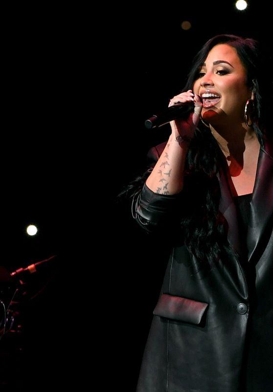 Demi Lovato - Bud Light Super Bowl Music Fest in Miami 02/01/2020