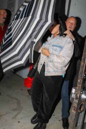 Demi Lovato - Leaves Church Service in Los Angeles 02/12/2020