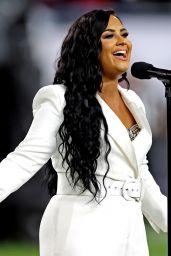 Demi Lovato - Sings the U.S. National Anthem Super Bowl LIV
