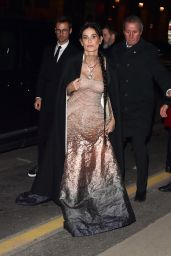 Demi Moore - Arrives at the Harpers Bazaar Party in Paris 02/26/2020