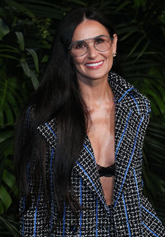 Demi Moore – Charles Finch and Chanel Pre-Oscar Awards 2020 Dinner