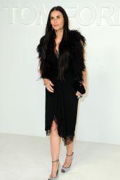 Demi Moore – Tom Ford Fashion Show in LA 02/07/2020