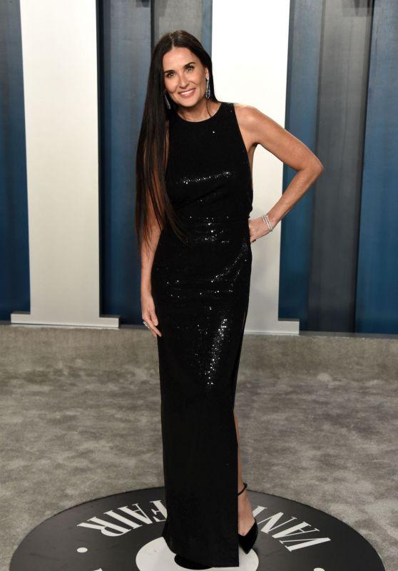 Demi Moore – Vanity Fair Oscar Party 2020