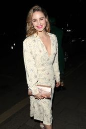 Dianna Agron - Arriving at the Vogue x Tiffany Fashion & Film After Party in London 02/02/2020