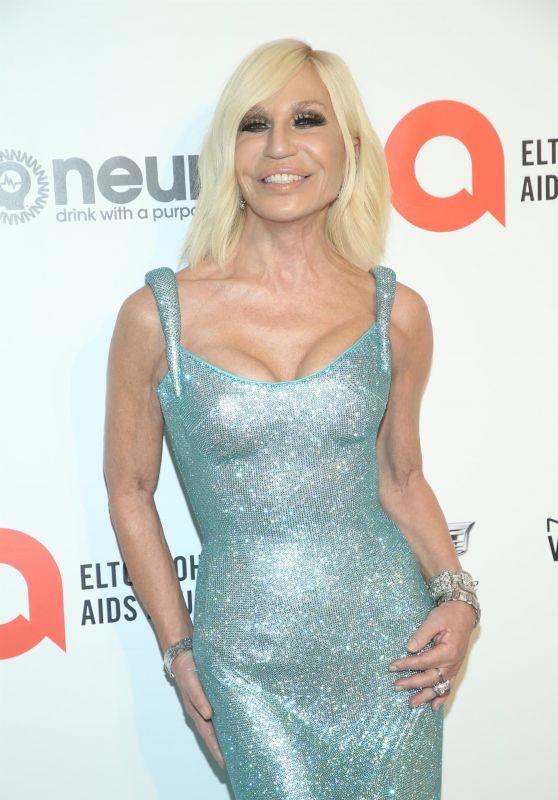 Donatella Versace – Elton John AIDS Foundation Oscar 2020 Viewing Party