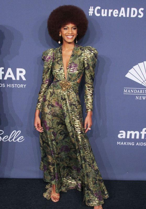 Ebonee Davis – amfAR Gala 2020 Benefit For AIDS Research