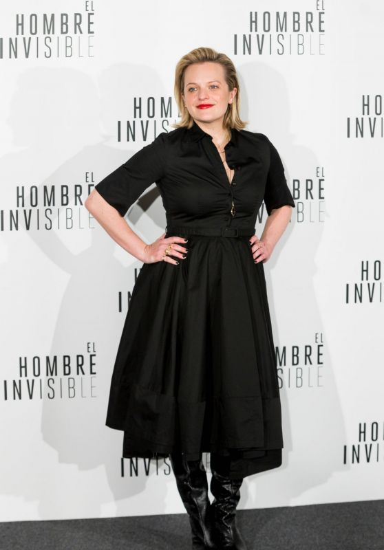 "Elisabeth Moss - ""The Invisible Man"" Premiere in Madrid"
