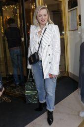 Elizabeth Moss Style - Paris 02/17/2020