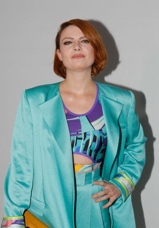 Elodie Frege - Leonard Show at Paris Fashion Week 02/27/2020