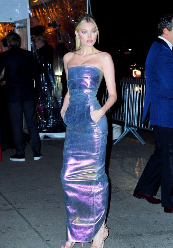 Elsa Hosk – Arriving at the amfAR New York Gala 02/05/2020