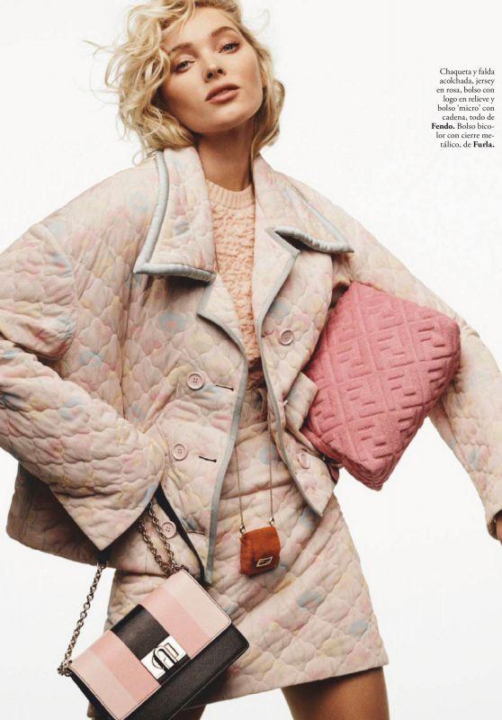 Elsa Hosk- ELLE Magazine Spain March 2020 Issue