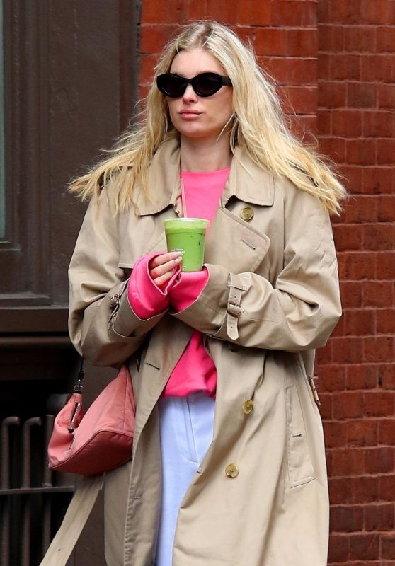 Elsa Hosk in Casual Outfit - New York City 02/27/2020