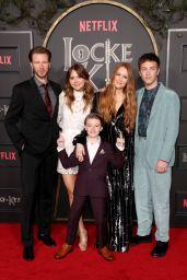 "Emilia Jones – ""Locke & Key"" Series Premiere in Hollywood"