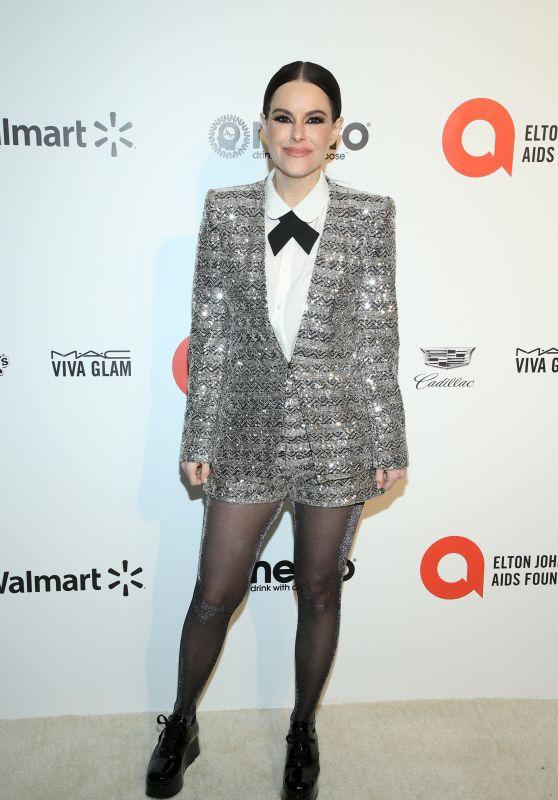 Emily Hampshire – Elton John AIDS Foundation Oscar 2020 Viewing Party