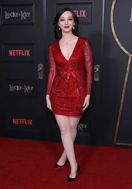 "Emma Dumont - ""Locke & Key"" Series Premiere in Hollywood"