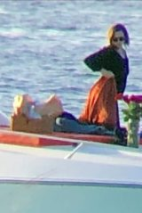 Emma Watson - Enjoying a Romantic Sunset on Valentine's Day in Formentera 02/14/2020