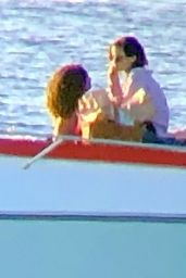 Emma Watson - Enjoying a Romantic Sunset on Valentine's Day in Formentera 02/14/2020