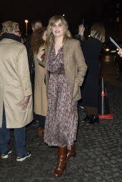 Emmanuelle Seigner – Celine Show at Paris Fashion Week 02/28/2020