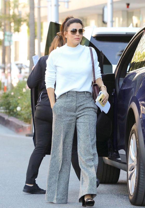 Eva Longoria Casual Style - Los Angeles 02/06/2020
