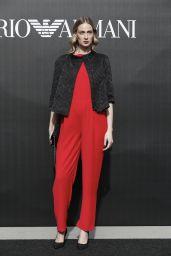 Eva Riccobono – Emporio Armani Show Photocall at Milan Fashion Week 02/21/2020