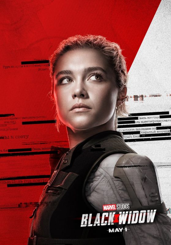 "Florence Pugh – ""Black Widow"" Poster"