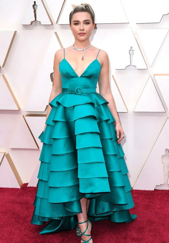 Florence Pugh – Oscars 2020 Red Carpet