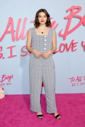 """Francesca Reale – """"To All The Boys: P.S. I Still Love You"""" Premiere in Hollywood"""