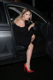 Frankie Essex Night Out - Sheesh Restaurant in Chigwell 02/16/2020