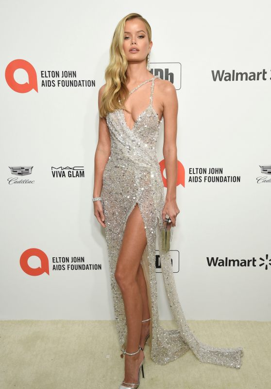 Frida Aasen – Elton John AIDS Foundation Oscar 2020 Viewing Party