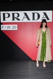 Gemma Arterton – Prada Fashion Show in Milan 02/20/2020